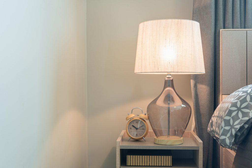 Lampe til soveværelset