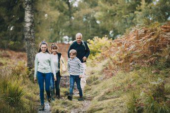 Aktiv familietur